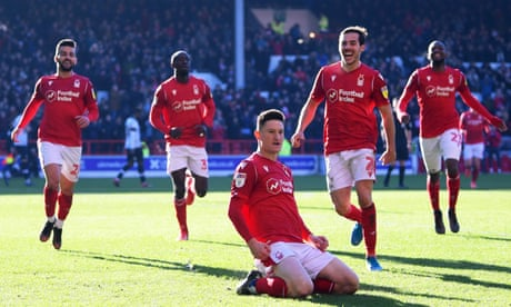 Joe Lolley turns tables on Luton to boost Nottingham Forest's upward dream