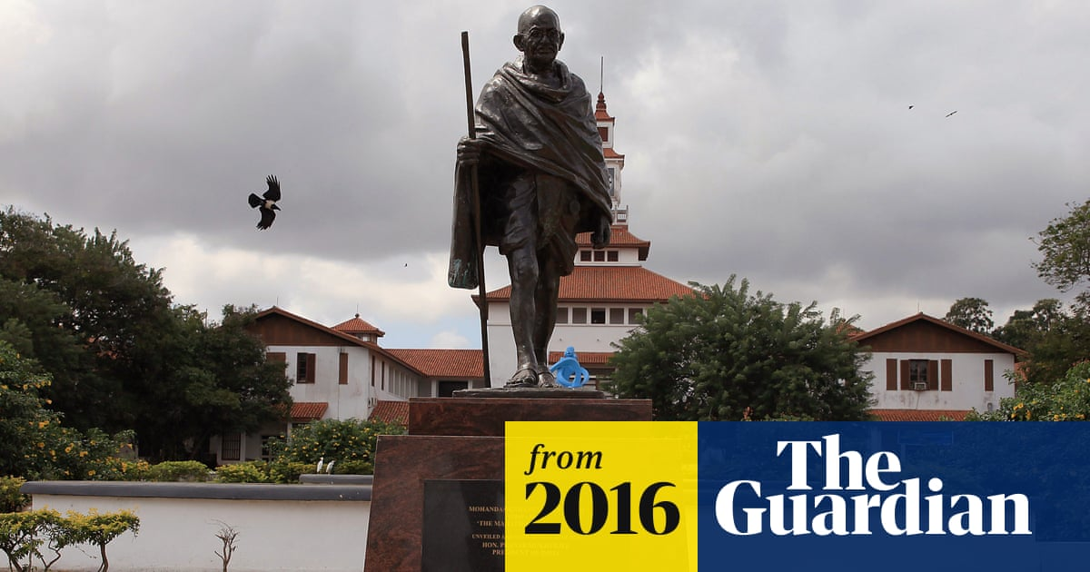 Racist Gandhi Statue Banished From Ghana University Campus World