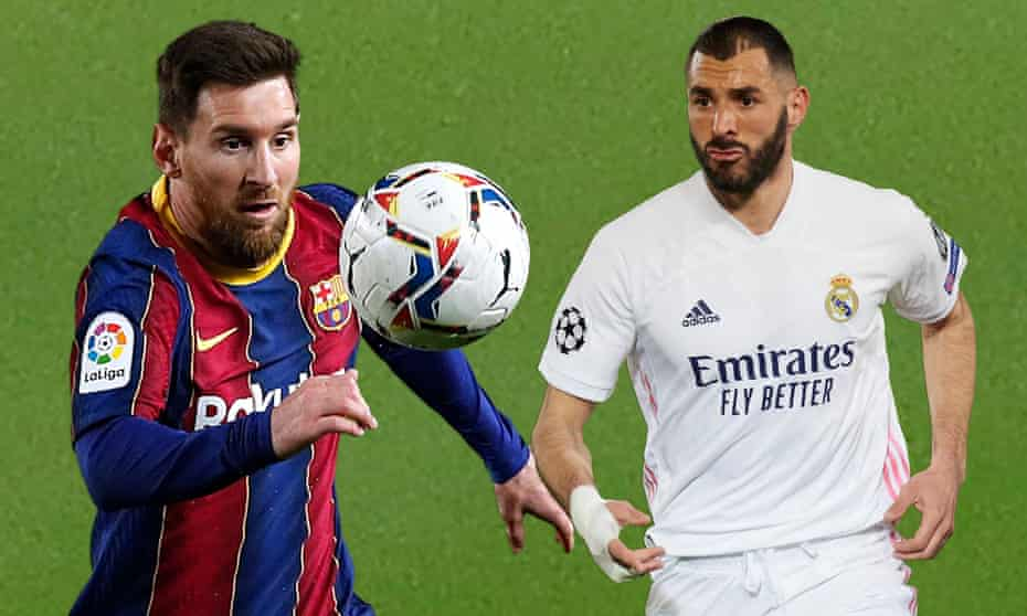 Lionel Messi and Karim Benzema will lock horns in this weekend's clásico.