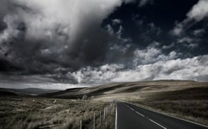 """Newby Head, Yorkshire""""On the road between Hawes and Ribblehead, the Dales really open up to a brooding expanse of light and shadow."""""""