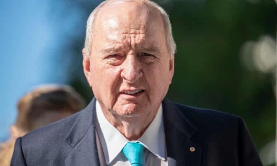 Alan Jones during a 2018 court case