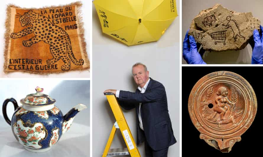 I object – an exhibition at the British Museum curated by comedian Ian Hislop.