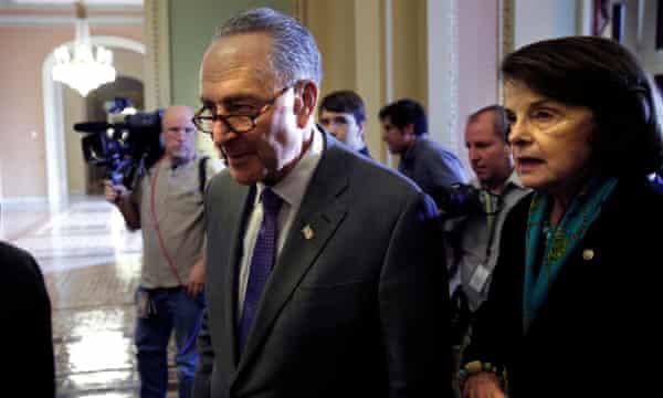 Senators Chuck Schumer and Senator Dianne Feinstein have spoken out against the reversal of Obama's gun control rule.