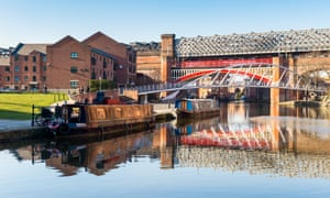 The Bridgewater canal in Manchester.