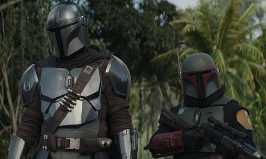 A shot in the armour ... The Mandalorian.