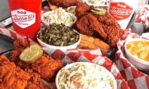 Southern fried chicken in Nashville