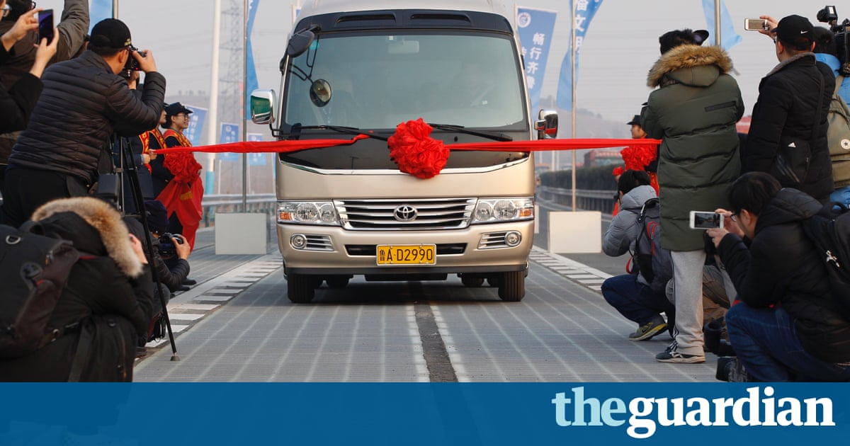 Daylight robbery: thieves steal chunk of China's new solar highway