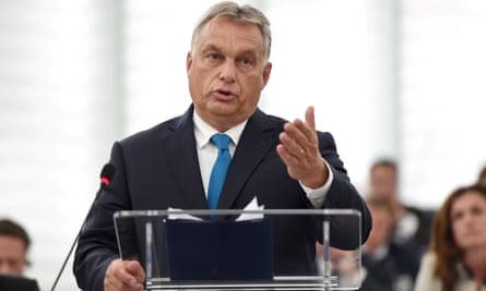 Viktor Orbán, the Hungarian prime minister