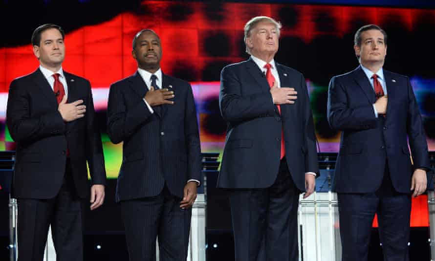 Marco Rubio, Ben Carson, Donald Trump and Ted Cruz offered aggressive rhetoric against Isis at Tuesday's debate.