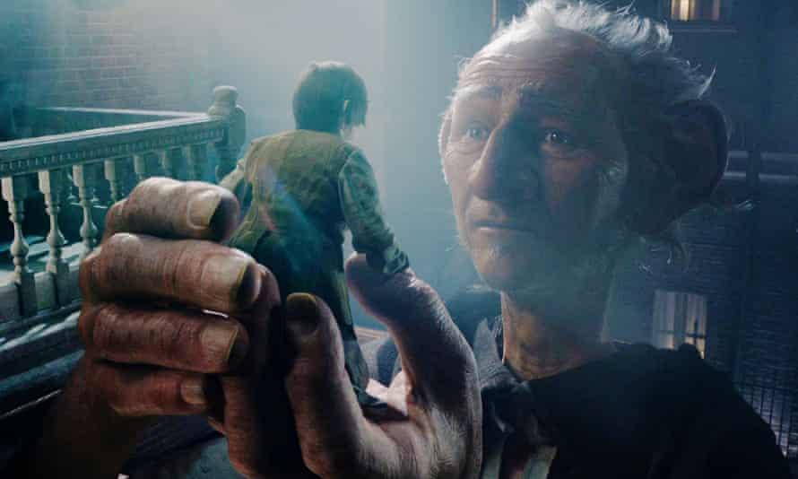 Steven Spielberg's The BFG.
