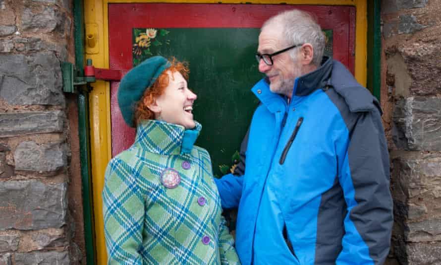 Martina Piercy and Tony Rudd at the Great Western Canal, Tiverton, Devon.