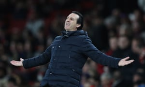 Unai Emery is known to want to bring players in this month but has been told he is restricted to loan signings.