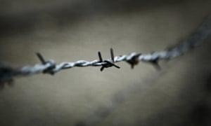 Barbed wire Auschwitz