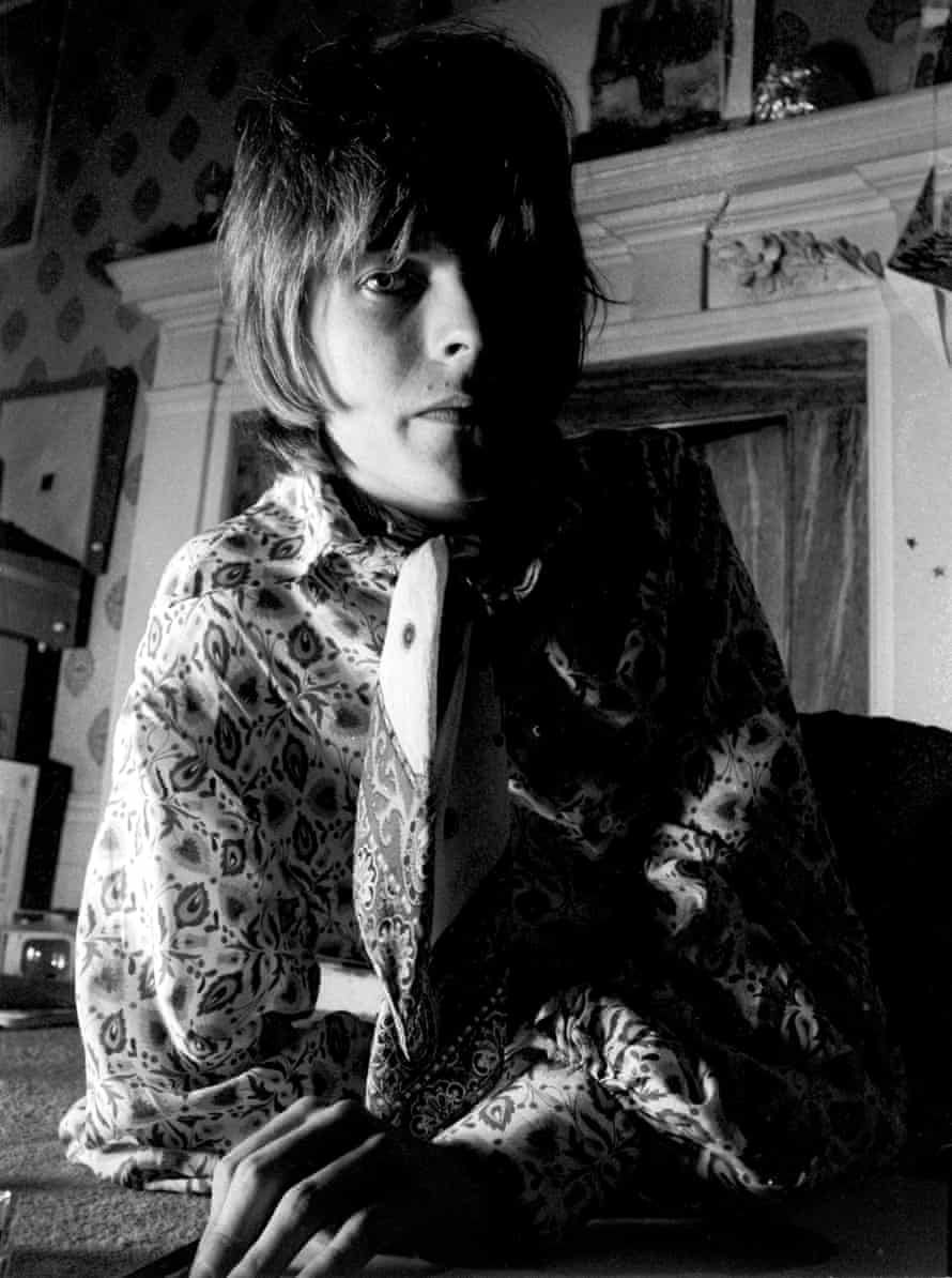 Bowie during the Laughing Gnome period in 1968