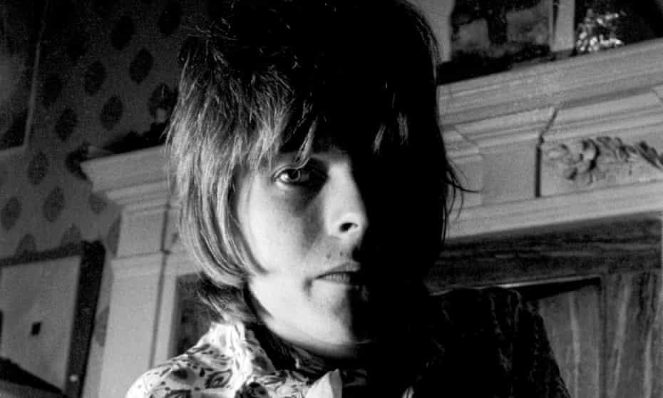 David Bowie in 1968.