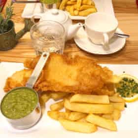 Millers haddock and chips light bites