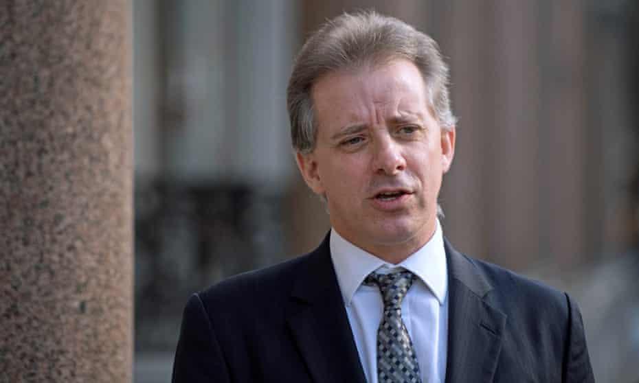 Christopher Steele, the former head of MI6's Russia desk