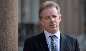 The former MI6 agent Christopher Steele