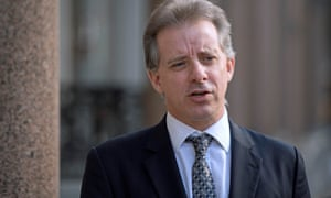The former MI6 agent Christopher Steele in London.