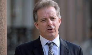 The former MI6 spy Christopher Steele