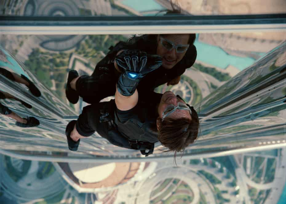 Tom Cruise in Mission: Impossible - Ghost Protocol.