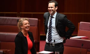 Nationals senators Bridget McKenzie and Matt Canavan