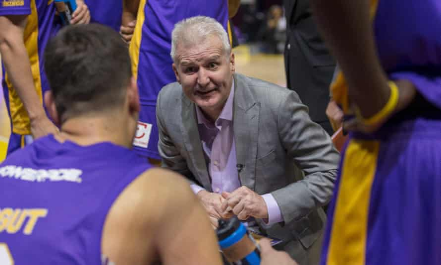 Andrew Gaze, pictured coaching the Sydney Kings, says he hopes 'common sense will prevail' and the Summer Slam basketball tournament goes ahead