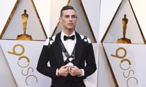 Real deal … Adam Rippon at the 2018 Oscars