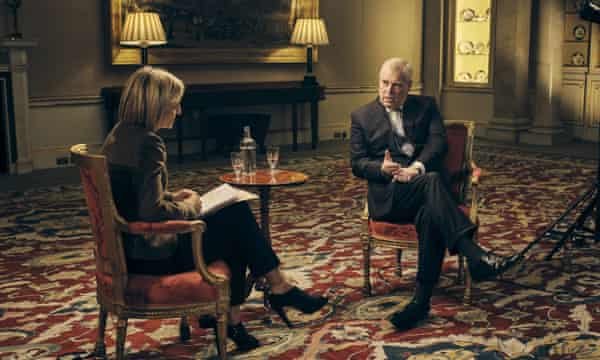 'Only an oafish moron would use such an alibi' ... Prince Andrew interviewed by Emily Maitlis.