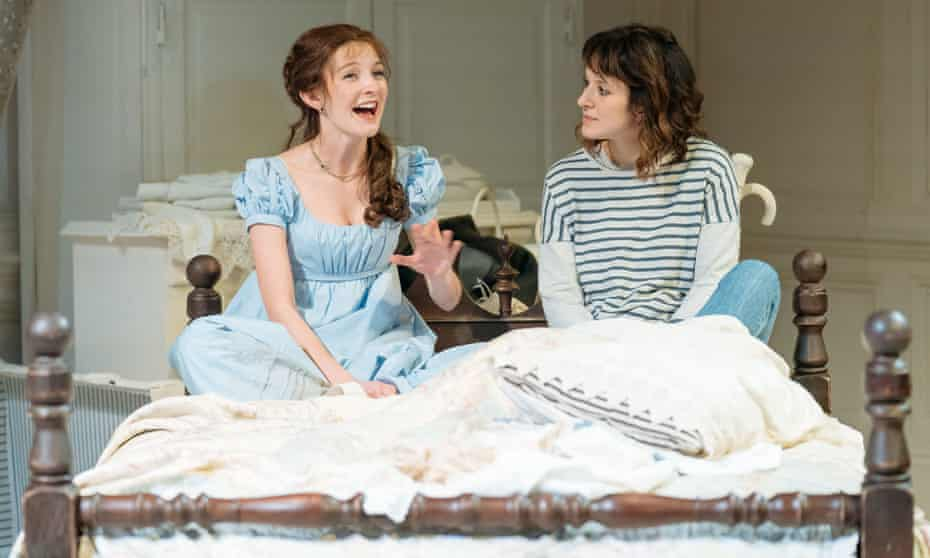 Grace Molony, left, as Emma Watson and Louise Ford as Laura in The Watsons.