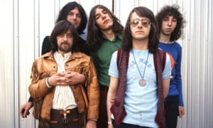 Fairport Convention in 1970, l to r Dave Swarbrick, Dave Pegg (behind), Simon Nicol, Dave Mattacks and Richard Thompson.