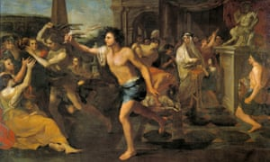 Lupercalia by Andrea Camassei is a 17th century portrayal of the riotous festival.