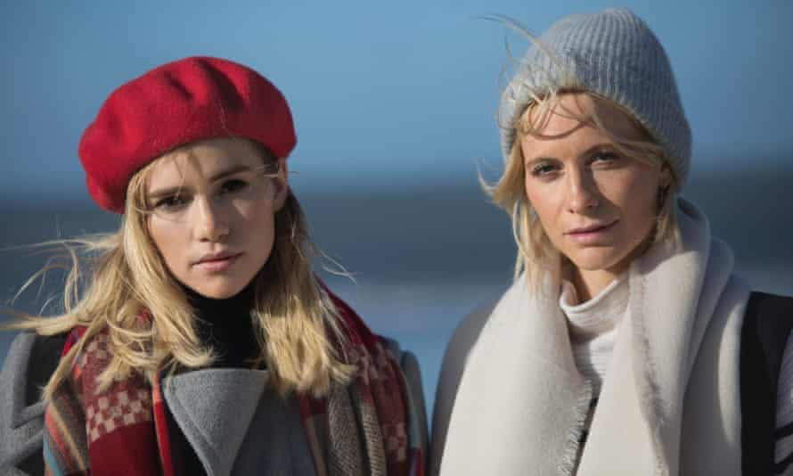 Suki Waterhouse and Poppy Delevingne in Bittersweet Symphony
