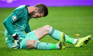 David de Gea picked up an injury playing for Spain on Tuesday.