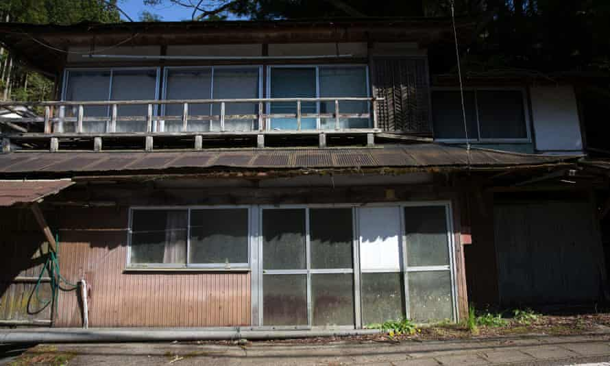 An abandoned house in Miyoshi, Japan, where empty buildings are now common because of declining population levels.