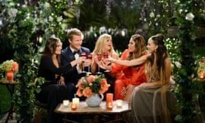 Eliza, Richie, Faith, Noni and Janey from season four of The Bachelor Australia.