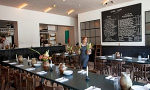 Westerns laundry london restaurant review food the guardian blackboard jungle fish dishes are fine at westerns laundry but the wine list is a solutioingenieria Image collections
