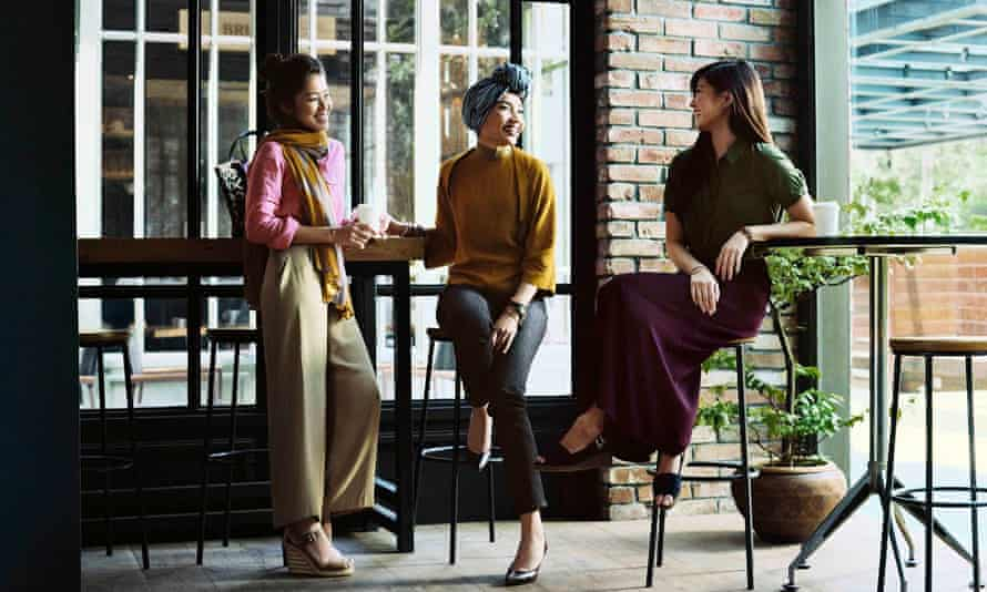 Some of the pieces from Hana Tajima's 'modest wear' fashion collection with Uniqlo.