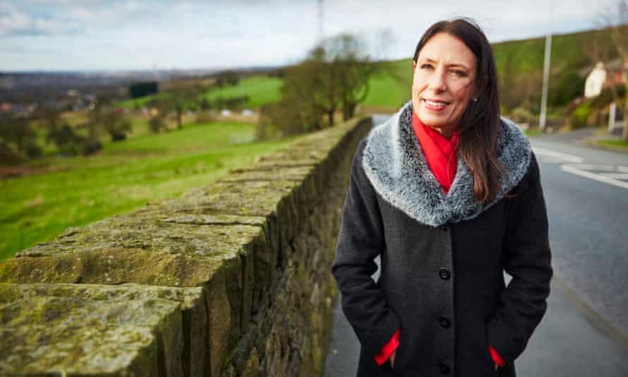 Debbie Abrahams at Lydgate in Oldham