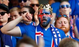 An Iceland fan