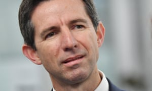 Trade minister Simon Birmingham said Andrew Hastie's comments last week about China had not been helpful.