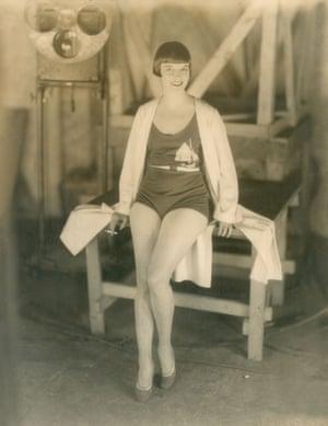 Louise Brooks On Set Of Prix De Beaute Paris Sep 1929