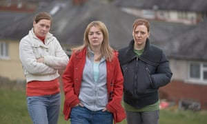 Extraordinary realism … Sian Brooke, Sheridan Smith and Gemma Whelan in The Moorside.