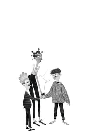 Illustration by Júlia Sardà from Beetle Boy
