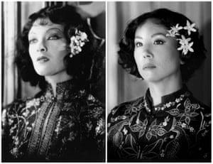 Myrna Loy in The Mask of Fu Manchu