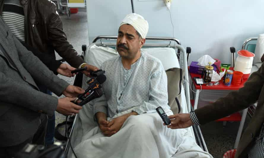 Ahmad Sarmast in hospital