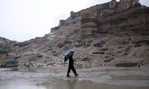 afghanistan snowstorm