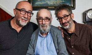 Ivor, Colin and David Baddiel.