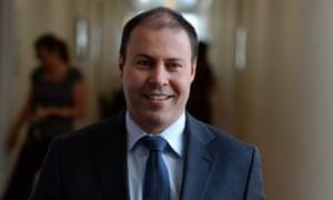 Josh Frydenberg in Parliament Housem Canberra
