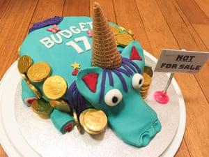Unicorn cake made by Lisa Martin